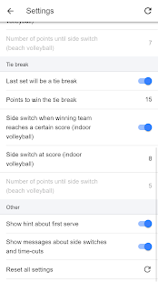 Volleyball Score Simple