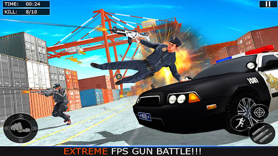 Police Counter Terrorist Strike Battlegrounds Hack for Android and iOS 3