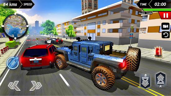 Police Car Racing 2020 Free screenshots 4
