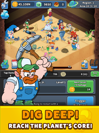 Tap Tap Dig 2: Idle Mine Sim 0.4.0 screenshots 10