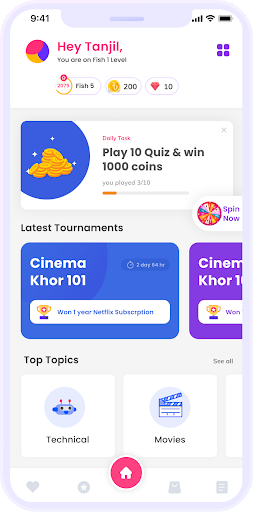 QuizGiri - Play.Learn.Win apkpoly screenshots 1