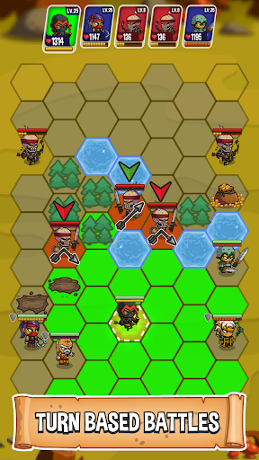 Five Heroes: The King's War 3.1.3 screenshots 3