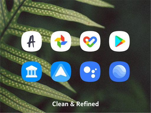 Meeyo icon pack - Flat Style MeeGo Squircle Icons screenshots 2