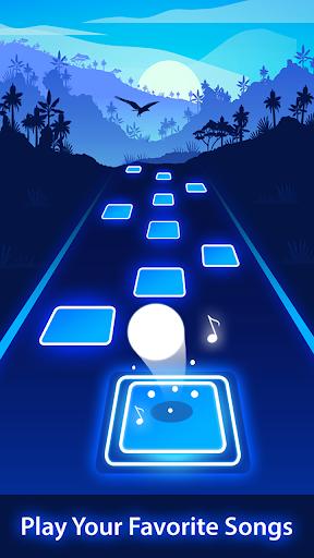 Magic Tiles Hop Forever EDM Rush! 3D Music Game  Screenshots 2