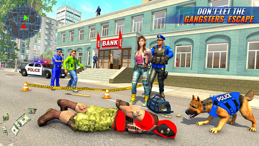 US Police Dog Bank Robbery Crime Shooting Game apkdebit screenshots 5