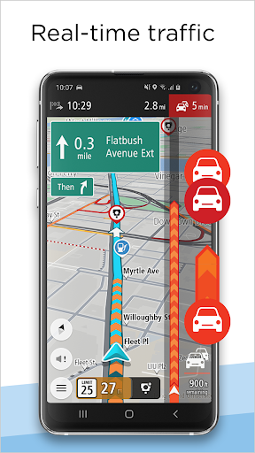 TomTom GO Navigation - GPS Maps & Live Traffic  screenshots 4