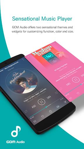 GOM Audio - Music, Sync lyrics, Podcast, Streaming 2.4.1 Screenshots 1