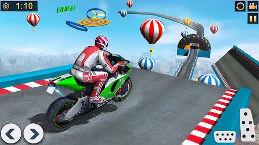 Bike Stunts Race 2021: Free Moto Bike Racing Games apkdebit screenshots 2