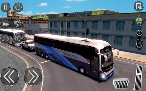 City Coach Bus Driving Sim : Bus Games 2020 0.2 Screenshots 17
