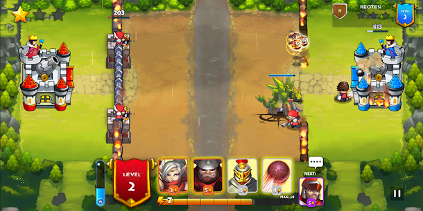 King Rivals: War Clash – PvP multiplayer strategy 1.3.4 4