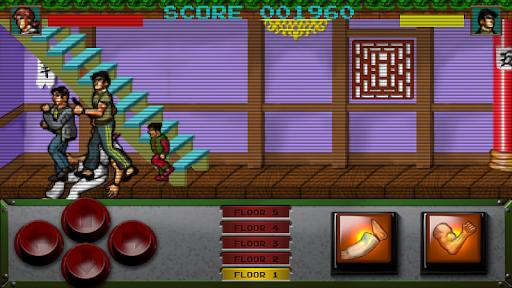 Retro Kung Fu Master Arcade screenshots 2