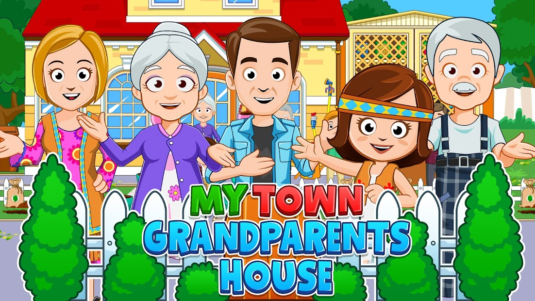My Town : Grandparents Play home Fun Life Game Android App Screenshot