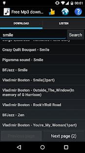 Free Mp3 Downloads 7.0.1 Screenshots 4