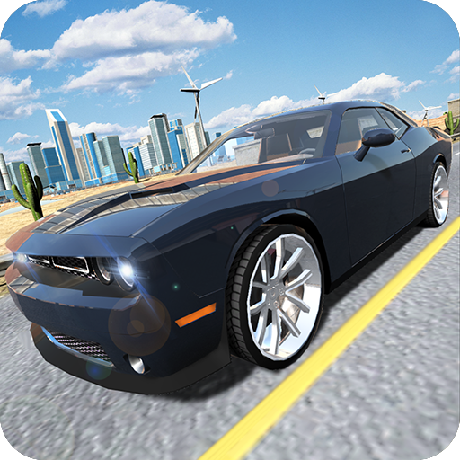 Muscle Car Challenger Icon