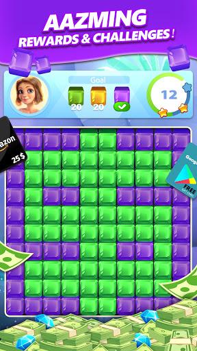 Lucky Diamond – Jewel Blast Puzzle Game to Big Win modiapk screenshots 1