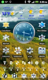 LC Snowflake Theme for For Pc – Free Download & Install On Windows 10/8/7 1
