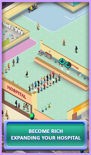 Idle Mega Hospital Tycoon - Hospital Builder Game modavailable screenshots 2