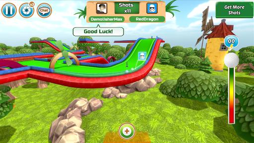 Mini Golf Rivals - Cartoon Forest Golf Stars Clash  screenshots 9