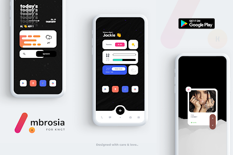 Ambrosia for KWGT APK [PAID] Download for Android 7