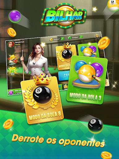 Bilhar - Bilhar bola 8 - Bilhar com jogo de cartas goodtube screenshots 14