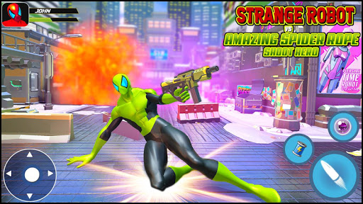 Strange Robot Vs Amazing Spider Vice City Hero  screenshots 11