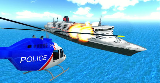 Police Helicopter City Flying 1.2 screenshots 4