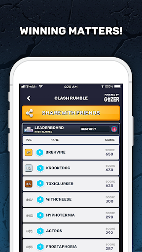 GIZER - Compete in Mobile Tournaments & Brackets  Screenshots 4