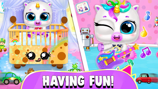 Pregnant Unicorn Mom And Baby Daycare 0.13 screenshots 5