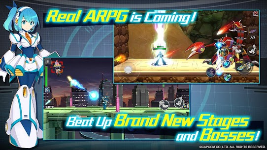 ROCKMAN X DiVE Mod 2.3.2 Apk [Unlimited Health] 4
