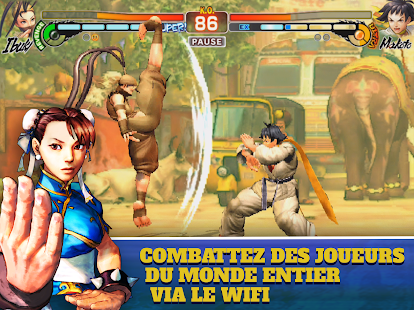 Street Fighter IV Champion Edition Capture d'écran