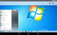 screenshot of Chrome Remote Desktop