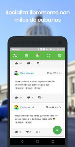 Apretaste: Comparte, Haz amigos, Habla libremente 7.1.0 Screenshots 3