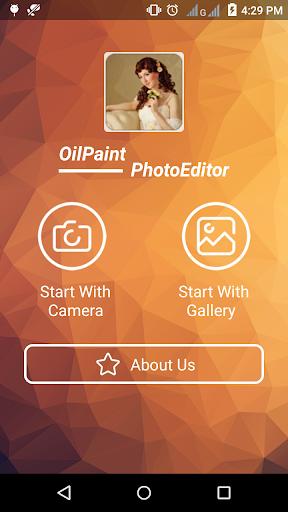 Oil paint Photo Editor screenshots 1