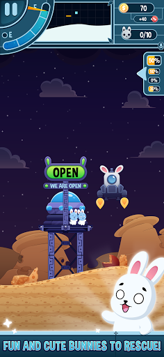 Télécharger Gratuit Planet Rabbit - Space Rocket Rescue Mission apk mod screenshots 6