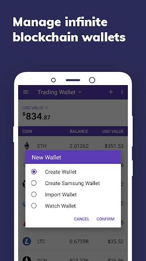 Enjin: Bitcoin, Ethereum, Blockchain Crypto Wallet 1.11.1-r Screenshots 3