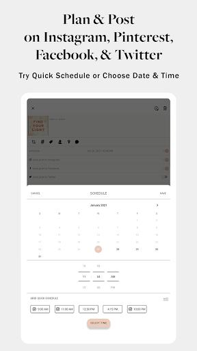 PLANOLY: Schedule Posts for Instagram & Pinterest  Screenshots 11
