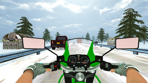 Highway Real Traffic Bike Racer screenshots 5