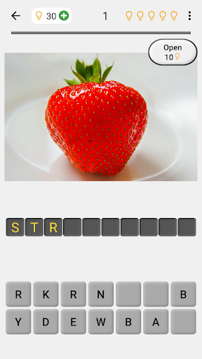 Easy Pictures and Words - Photo-Quiz with 5 Topics 3.1.0 screenshots 1