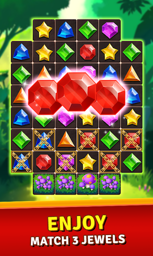 Jewels Jungle Treasure: Match 3  Puzzle 1.7.7 screenshots 1
