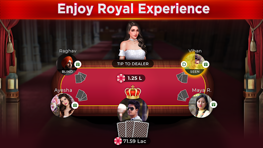 RTP - Royal Teen Patti 3.3 screenshots 1