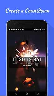 Countdown Widget Screenshot