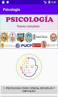 Psicología Preuniversitario 1.0 screenshots 1