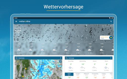 RegenRadar - Vorhersagen & live Wetterradar  screenshots 8