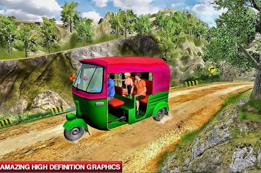 Mountain Auto Tuk Tuk Rickshaw : New Games 2020 2.0.23 screenshots 2