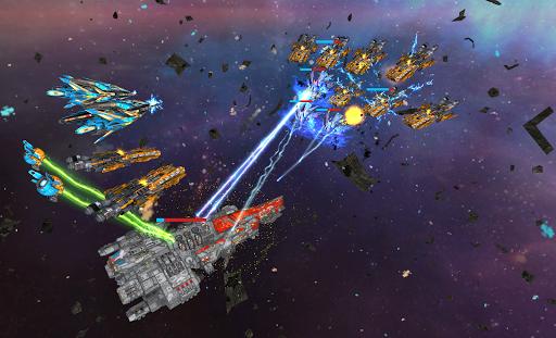 Space Ships WAR: Unique TD Battles apkpoly screenshots 18