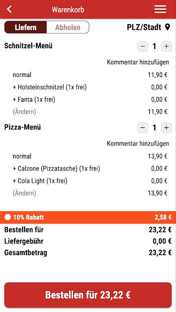 Pizzeria Manta screenshot 1