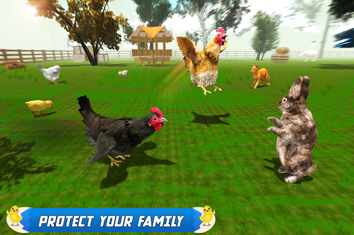 New Hen Family Simulator: Chicken Farming Games  screenshots 3
