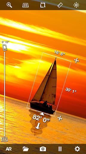 EasyMeasure - Camera Distance Tape Measure & Ruler apktram screenshots 2
