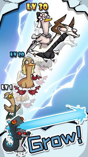 Merge Duck - Idle Click RPG apktram screenshots 5