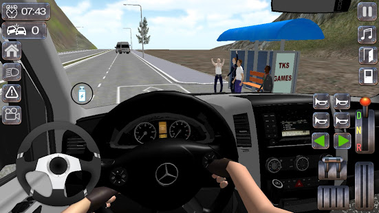 Minibus Sprinter Passenger Game 2021 apk